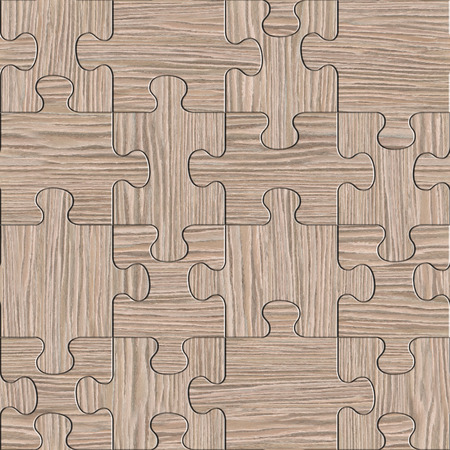 blasted: Wooden puzzles assembled for seamless background - Blasted Oak Groove wood texture