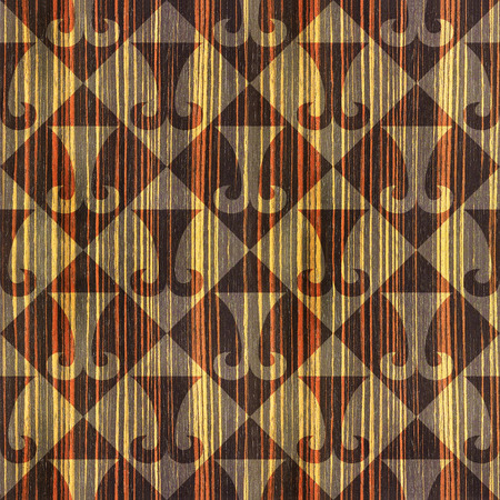 ebony wood: Abstract paneling pattern - seamless background - hipster symbol - Ebony wood texture