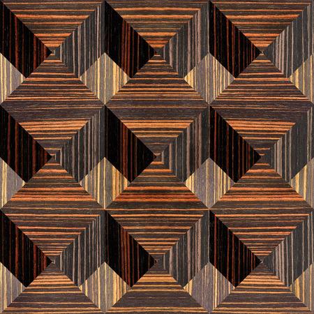 ebony wood: Abstract paneling pattern - seamless background - Ebony wood texture