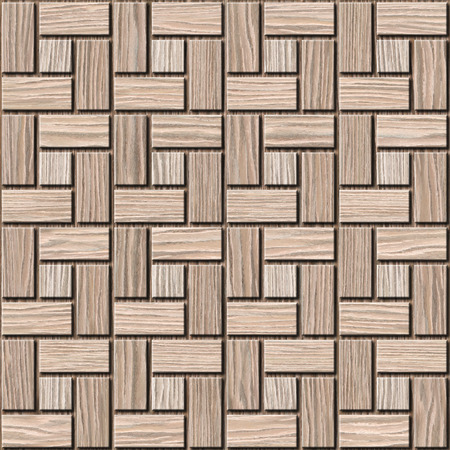 textur: Abstract paneling pattern - seamless background - Blasted Oak Groove wood textur Stock Photo