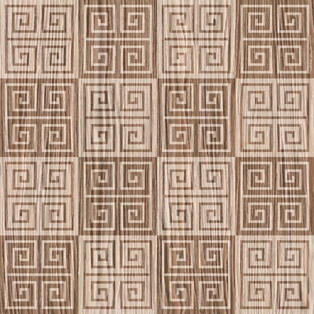 groove: Abstract paneling pattern - seamless background - cassette floor - Blasted Oak Groove wood texture
