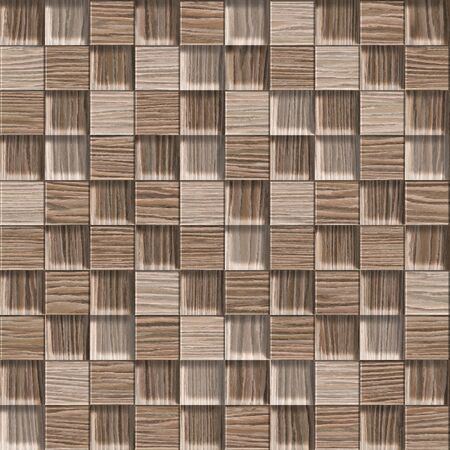 blasted: Abstract checkered pattern - seamless background - Blasted Oak Groove wood texture