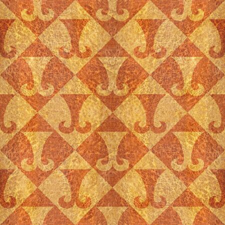 elm: Abstract paneling pattern - seamless background - hipster symbol - Carpathian Elm wood texture