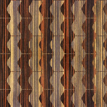 ebony: Abstract winding pattern - seamless background - Ebony wood texture Stock Photo