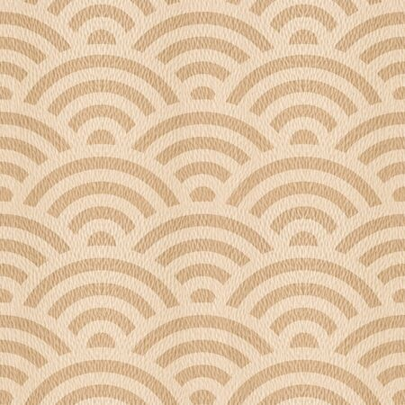 oak wood: Abstract arched pattern - seamless background - White Oak wood texture