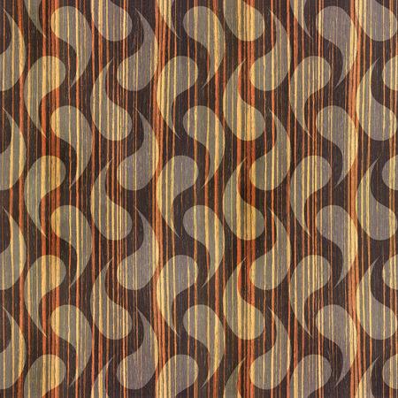 ebony: Abstract cellular texture - seamless background - Ebony wood texture