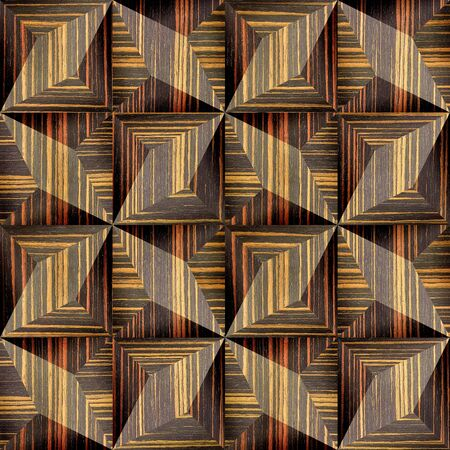 paneling: Abstract decorative texture - seamless background - paneling pattern - Ebony wood texture