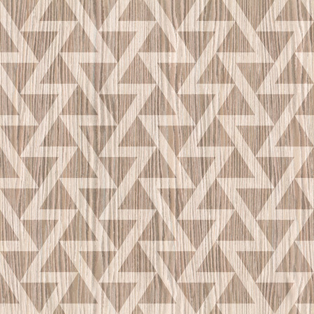 blasted: Abstract triangle pattern - seamless background - Blasted Oak Groove wood texture