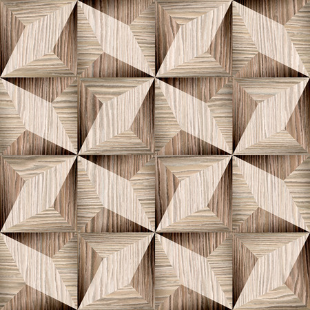 Textura decorativo abstracto - fondo sin fisuras - Revestimiento de madera patrón - Blasted Roble Groove textura de madera Foto de archivo