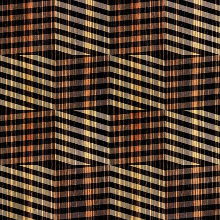 zig zag: zig zag chevron pattern - seamless background - Ebony wood texture