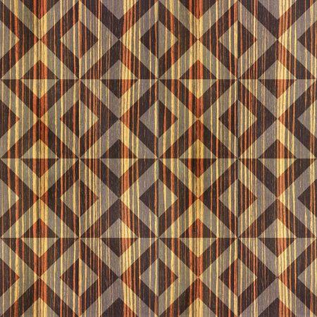 ebony: Wooden pyramids - seamless background - Ebony wood texture