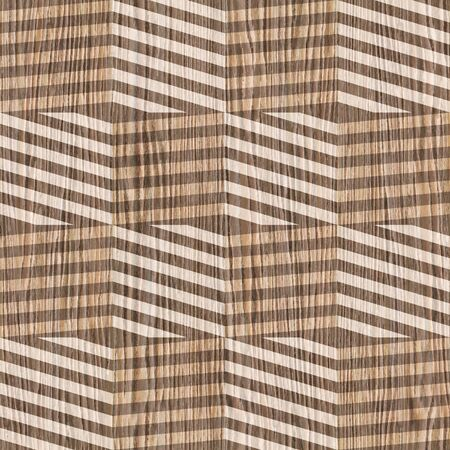 zig zag: vintage zig zag pattern - seamless background - Blasted Oak Groove wood texture
