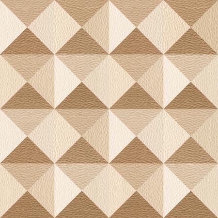 pyramidal: Abstract paneling pattern - pyramidal pattern - White Oak wood texture