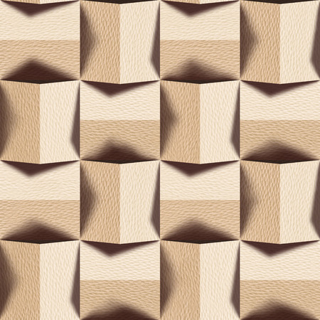 wood paneling: Abstract paneling pattern - seamless background - White Oak wood texture