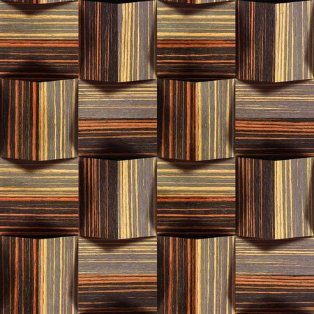 wood paneling: Abstract paneling pattern - seamless background - Ebony wood texture