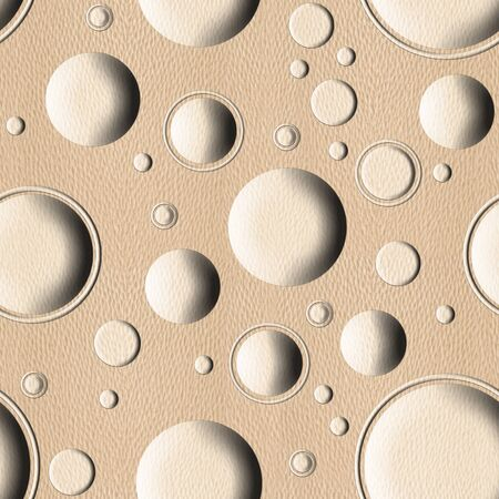 tumors: Bubble decorative wooden pattern for seamless background - White Oak wood texture Stock Photo
