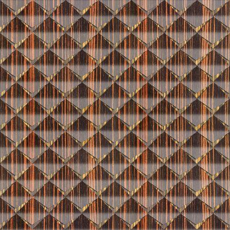 ebony: Abstract clippings stacked for seamless background - Ebony wood texture Stock Photo