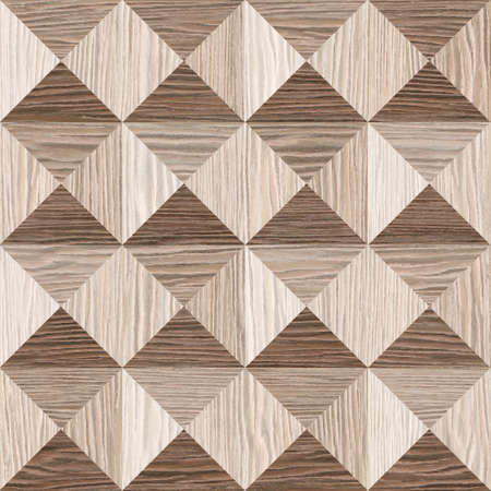 pyramidal: Abstract paneling pattern - pyramidal pattern - Blasted Oak Groove wood texture