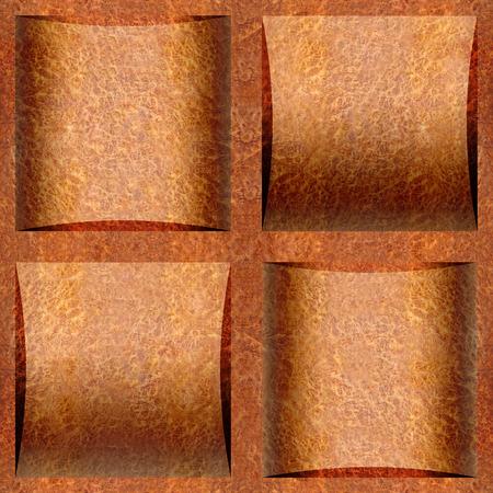 elm: Abstract paneling pattern - seamless background - Carpathian Elm wood texture