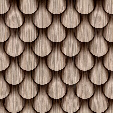 groove: Abstract drops stacked for seamless background - Blasted Oak Groove wood texture Stock Photo