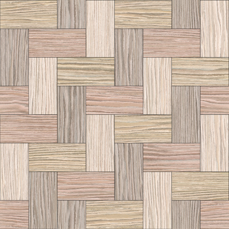 panelling: Wooden rectangular parquet stacked for seamless background - Blasted Oak Groove wood texture
