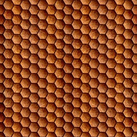 Abstract wooden grid - seamless background - Carpathian Elm wood texture photo