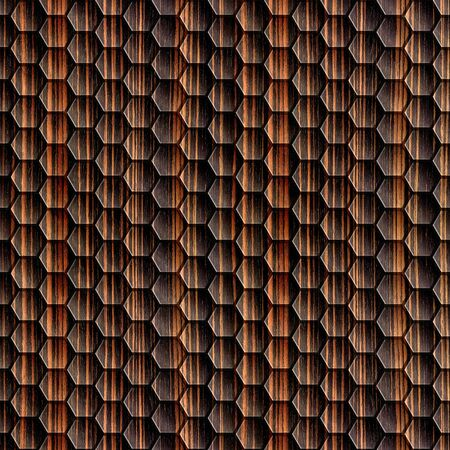 veneer: Abstract wooden grid - seamless background - Ebony wood texture Stock Photo