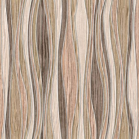 groove: Abstract paneling pattern - waves decoration - seamless background - Blasted Oak Groove wood texture