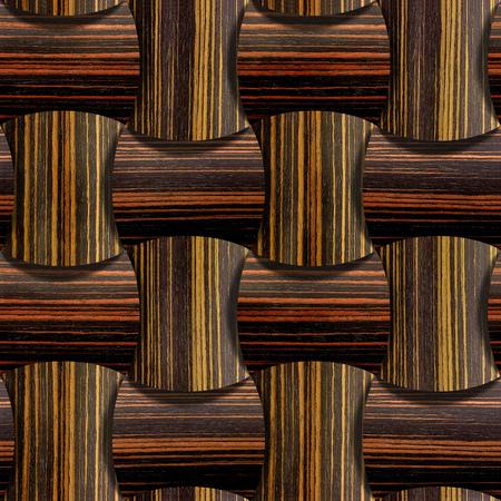 ebony: Abstract wooden paneling - seamless background - Ebony wood texture Stock Photo