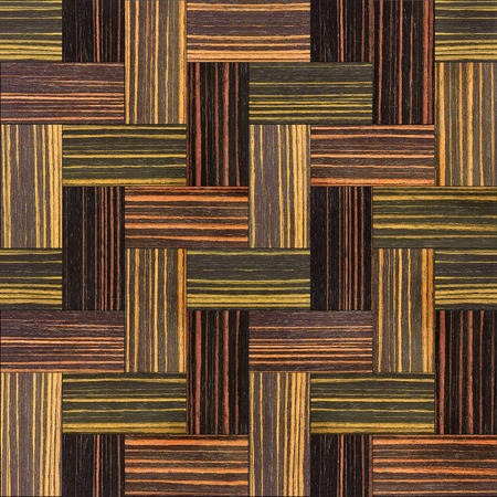 parquet: Wooden rectangular parquet stacked for seamless background - Ebony wood texture Stock Photo