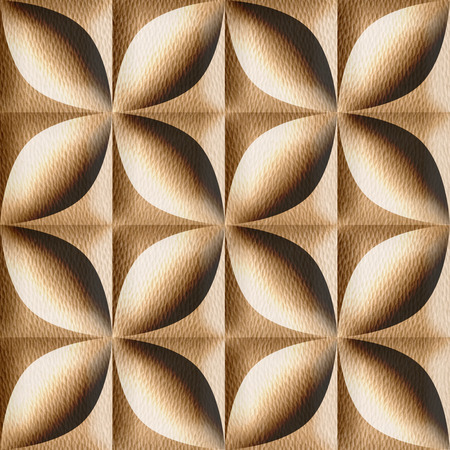 oak wood: Abstract decorative tiles stacked for seamless background - White Oak wood texture
