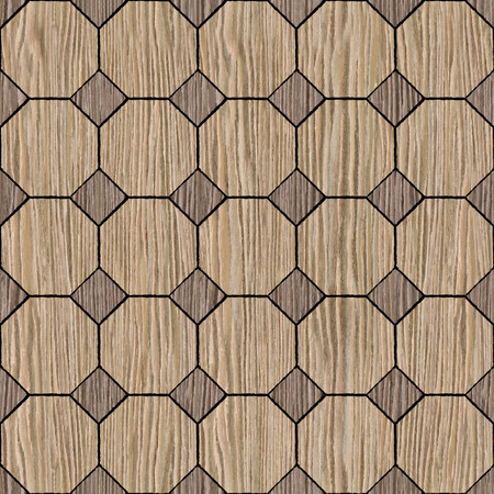 groove: Abstract decorative paneling - seamless background - Blasted Oak Groove wood texture Stock Photo