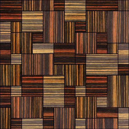 ebony: Abstract wooden paneling pattern - seamless background - Ebony wood texture