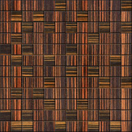 ebony: Decorative checkered pattern - seamless background - Ebony wood texture