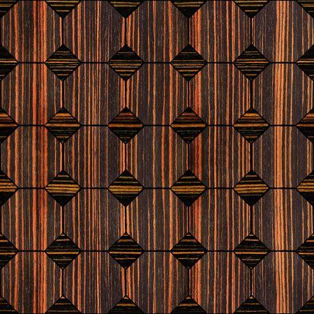 ebony: Abstract decorative paneling - seamless background - Ebony wood texture