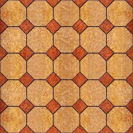 Abstract decorative paneling - seamless background - Carpathian Elm wood texture Stock Photo