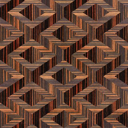 ebony: wooden parquet Decoration - seamless background - Ebony wood texture