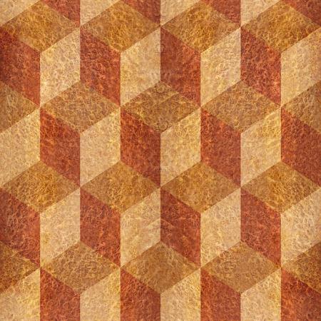 elm: Wooden parquet blocks - seamless background - Carpathian Elm wood texture Stock Photo