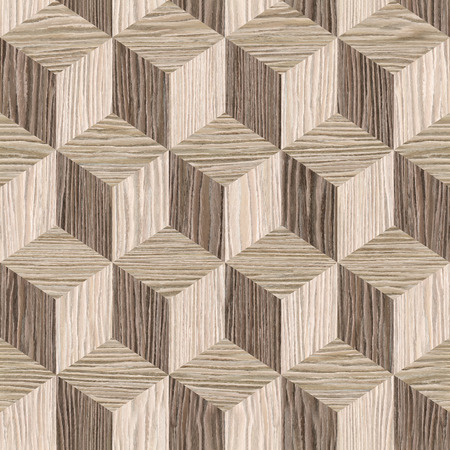 blasted: Wooden parquet blocks - seamless background - Blasted Oak Groove wood texture