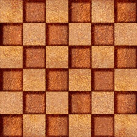 elm: Abstract checkered pattern - seamless background - Carpathian Elm wood texture