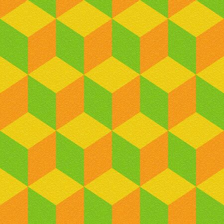 Abstract paneling pattern - seamless background - citrus texture