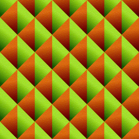 multivitamins: Abstract paneling pattern seamless background orange and lime texture