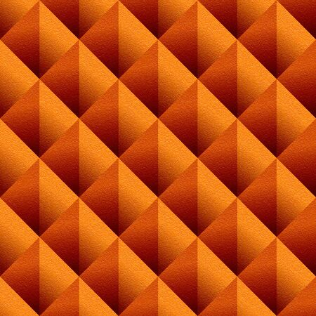 multivitamins: Decorative triangular pattern - seamless background - tangerine texture
