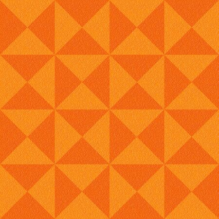 multivitamins: Decorative checkered pattern - seamless background - tangerine texture