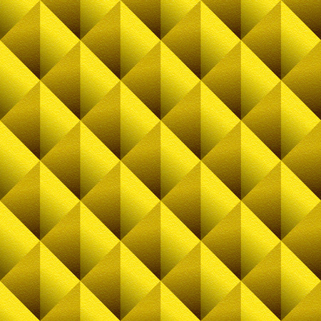Decorative triangular pattern - seamless background - lemon texture