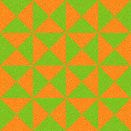 multivitamins: Abstract paneling pattern - seamless background - orange and lime texture Stock Photo