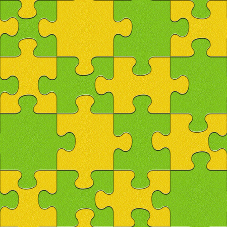 multivitamins: Abstract puzzles pattern - seamless background - citrus texture - lemon and lime texture
