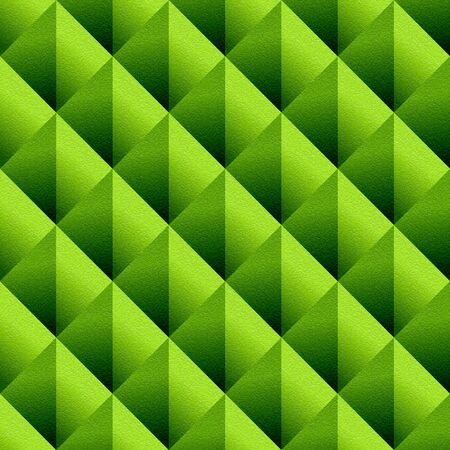 Decorative triangular pattern - seamless background - lime texture