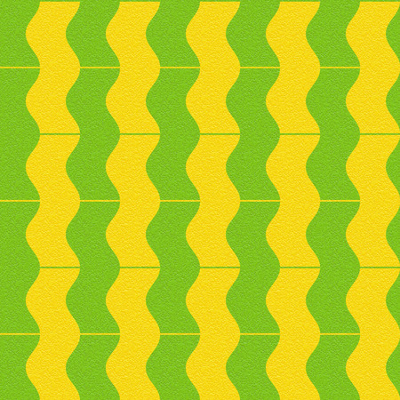 multivitamins: Abstract paneling pattern - waves decor - seamless background - citrus texture Stock Photo
