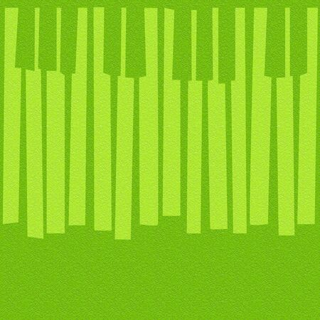 multivitamins: Abstract musical piano keys - seamless background - lime texture Stock Photo